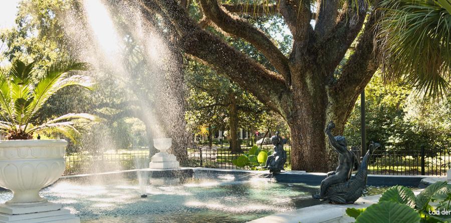 Washington Square Fountain 2