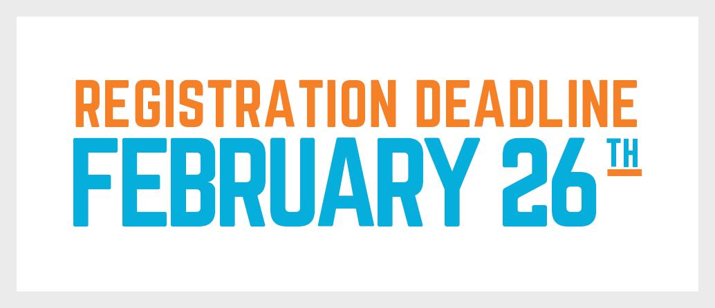 adult leagues registration deadline