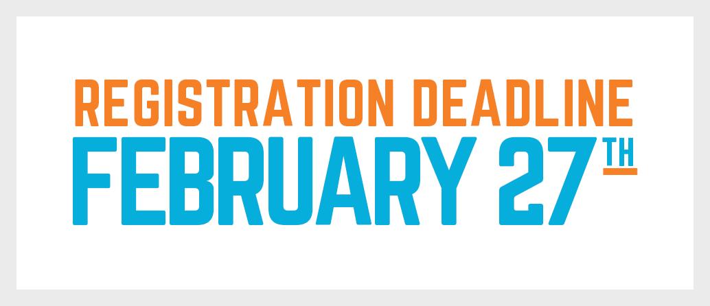 youth sports registration deadline