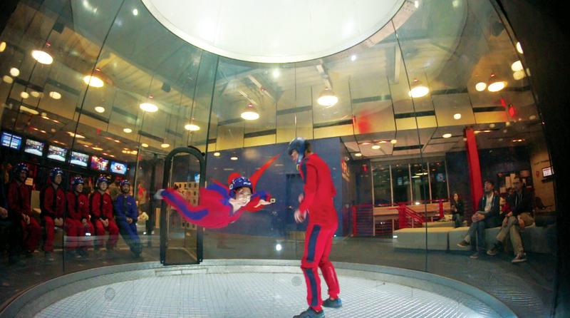 iFly Indoor Skydiving in north austin texas