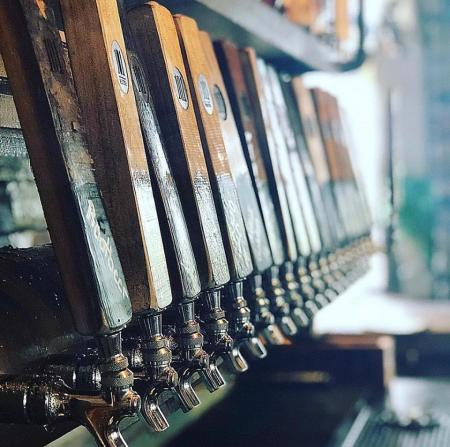 101 Beer Kitchen Taps
