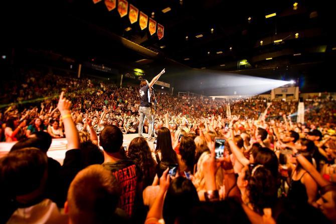 Hartman Arena Concert