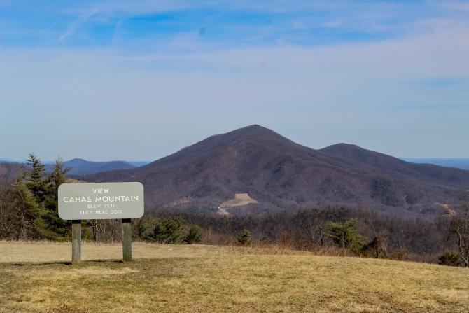 Cahas Mountain - Franklin County, Virginia
