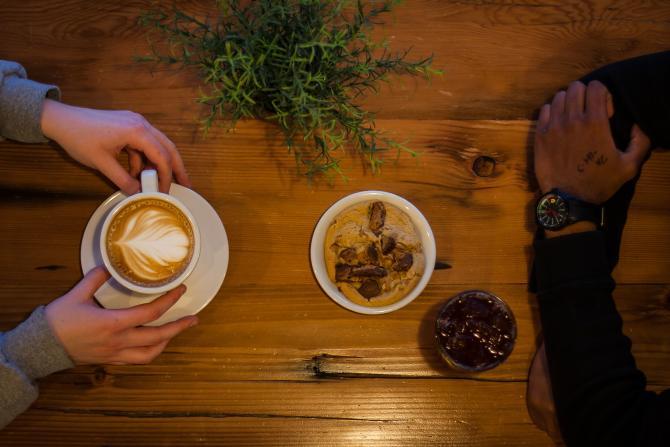 Coffee at Fairmount
