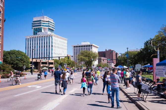 Roaming the streets during Open Streets ICT