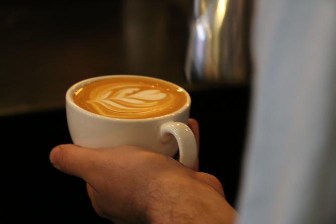Hot Coffee at Reverie Roasters