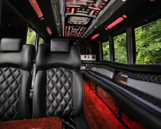 Luxury Party Bus
