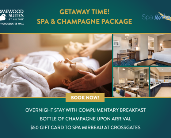 Spa & Champagne Offer