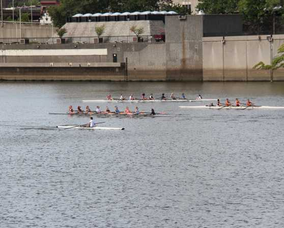 Crewing on the Hudson River with the Albany Rowing Center
