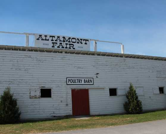 Altamont Fairgrounds - Poultry Barn