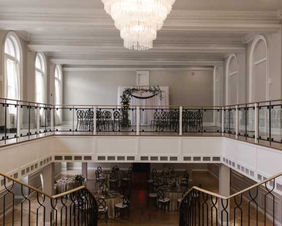 Both levels ballroom