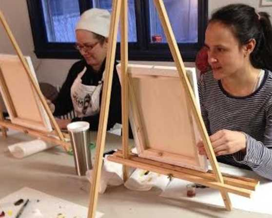 albany art room adult painting class