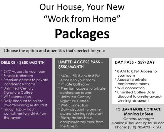 Work from home offer