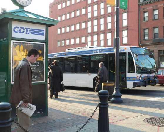 CDTA Bus Stop