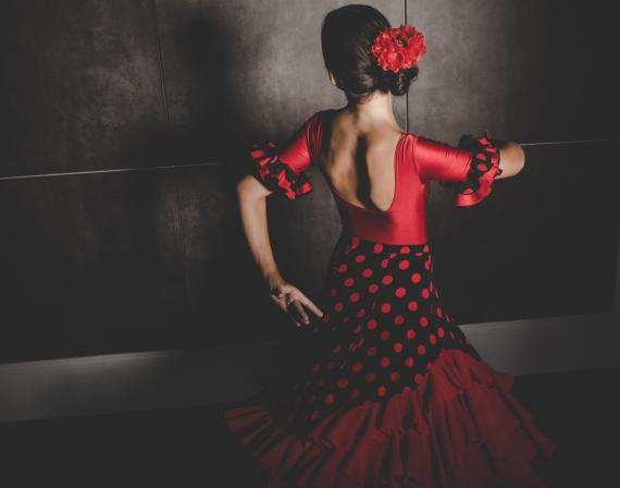 Flamenco Dancer at Catas