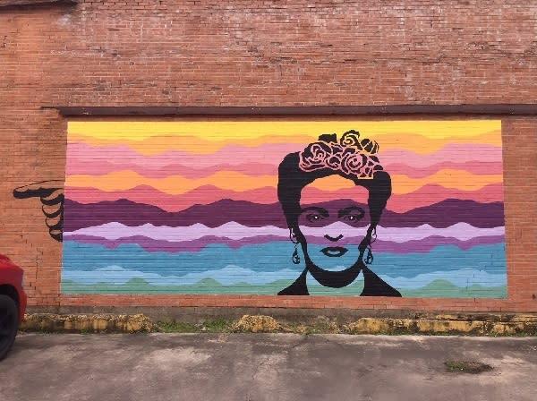 The Frida Mural