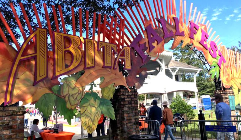 Abita Fall Fest Entrance, Abita Springs