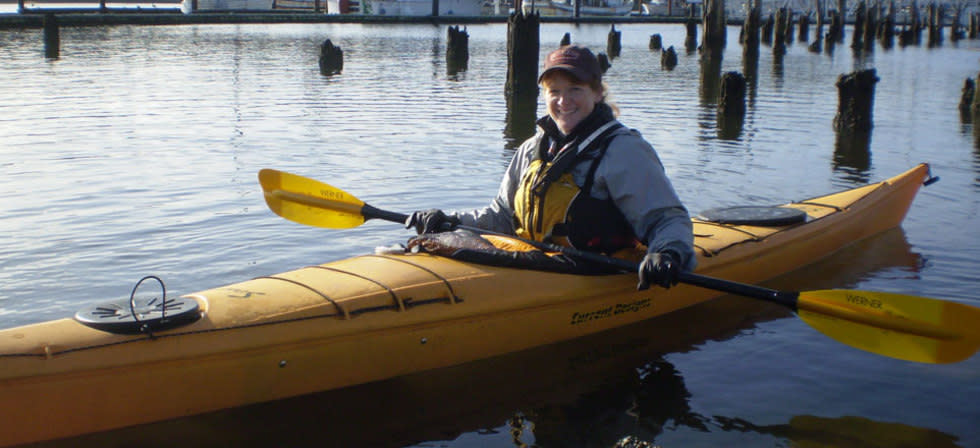Paddling the Siuslaw River by Jennifer Archer