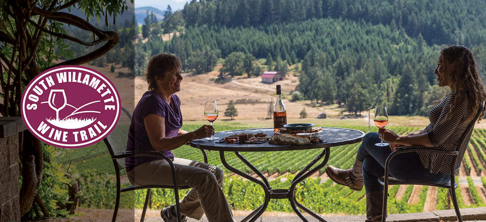 South Willamette Wine Trail - Iris Vineyards by Joni Kabana