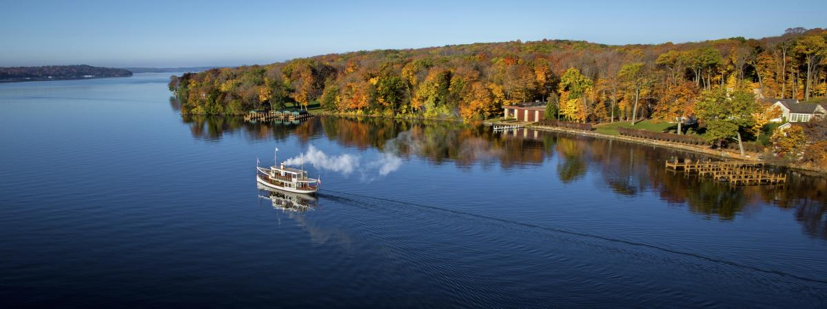 Fall Cruise Boat