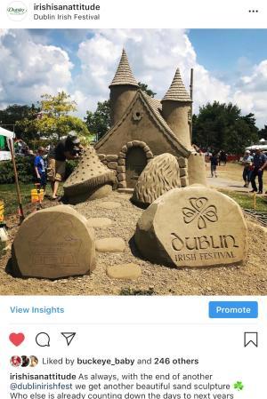 DIF Sand Sculpture Instagram
