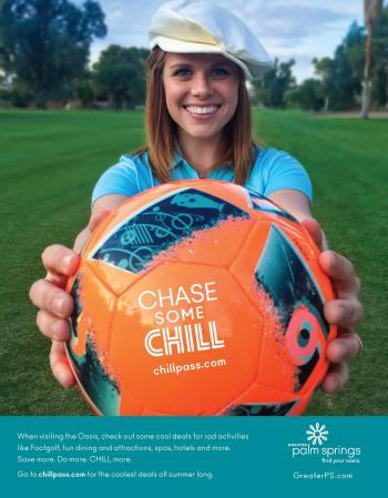Print Ad - Palm Springs Life Summer Chill 2018