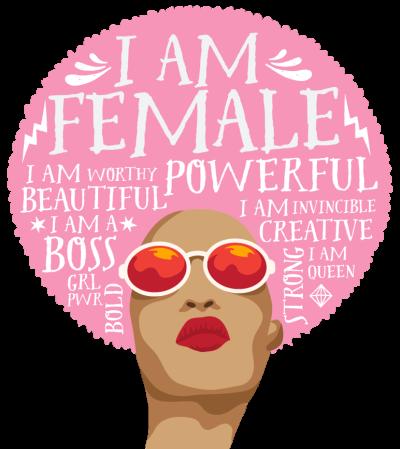 Woman of Power Ladybug Logo