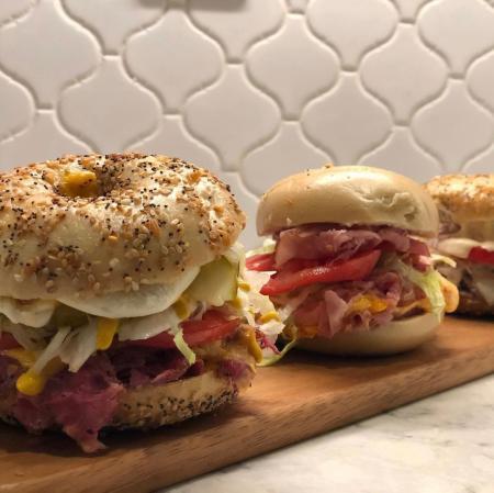 Bagel Sandwiches Frank & Carl's