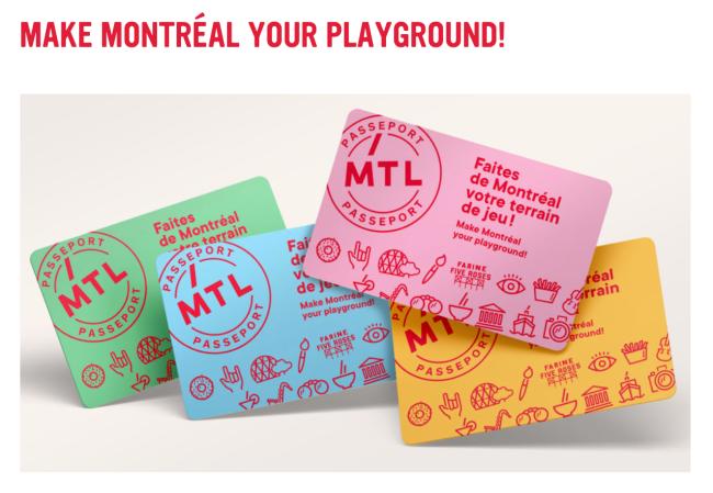 Montreal Playground Passport