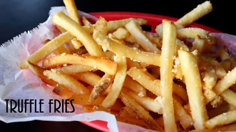Truffle Fries Burger Stand Topeka Kansas