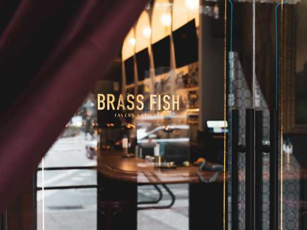 Brass+Fish+Downtown+Vancouver+Entrance+by+Pendulum+Magazine