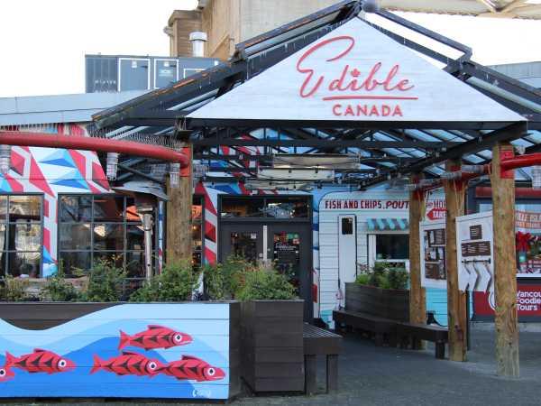 Edible Canada Bistro Facade