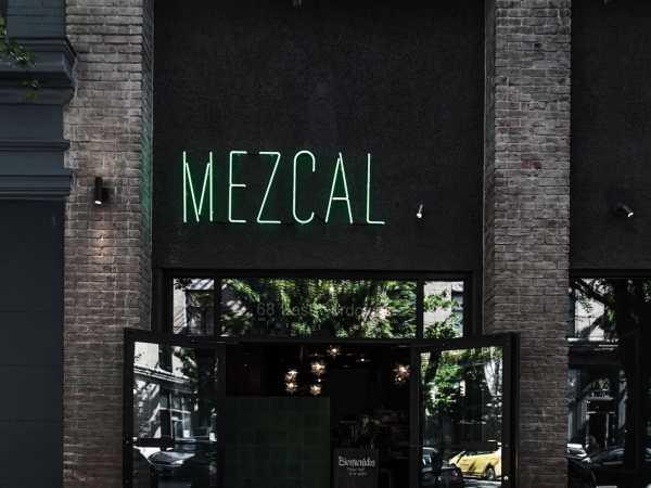 La Mezcaleria Gastown's entrance