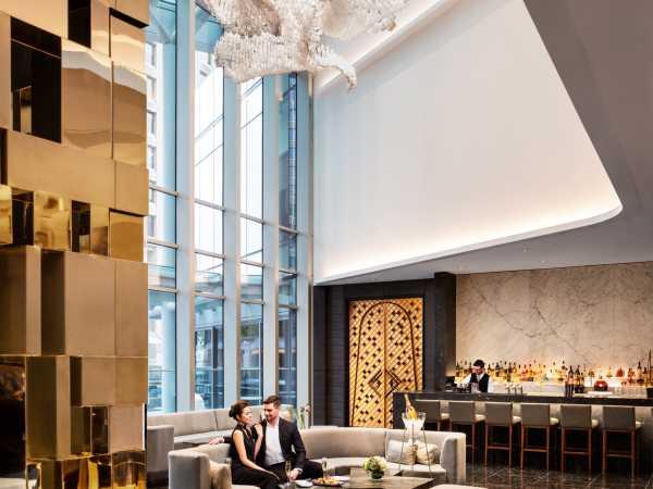 The Trump Champagne Lounge Interior
