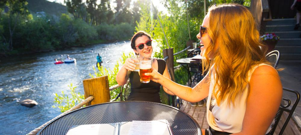 Top Ten Summer Activities in Steamboat Springs: Patio Dining Downtown