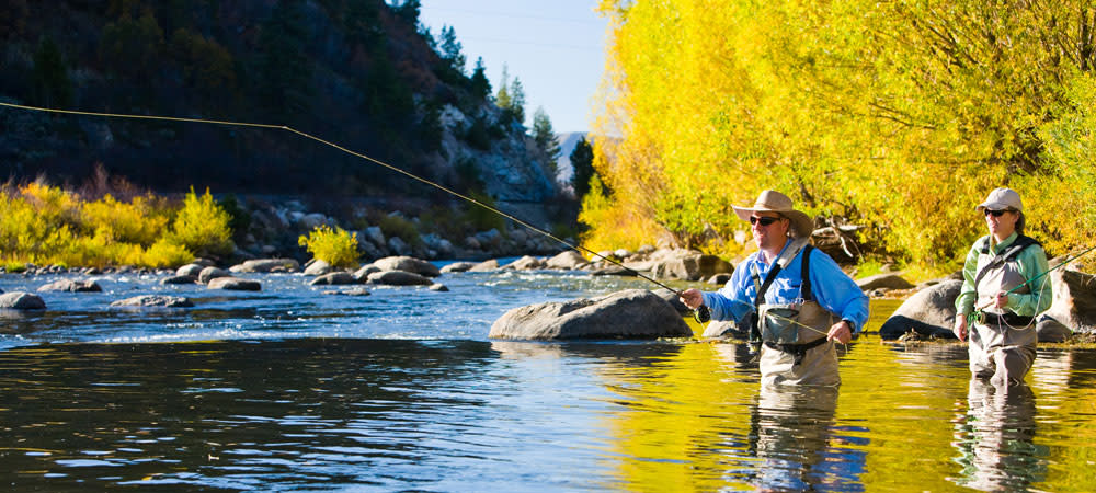 Fall fly fishing on the Yampa river