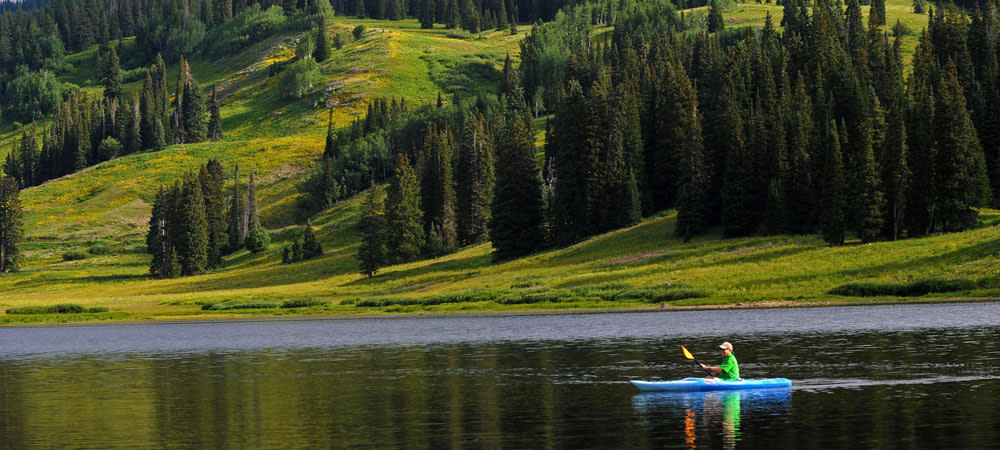 Get out to explore the water around Steamboat Springs