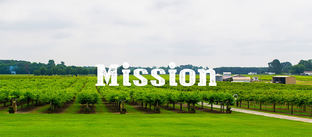JoCo Grows Mission statement graphic, Smithfield, North Carolina.