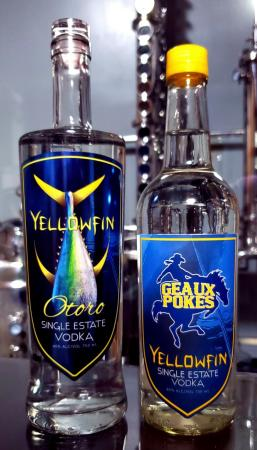 Yellowfin Vodka Otoro and Geaux Blue