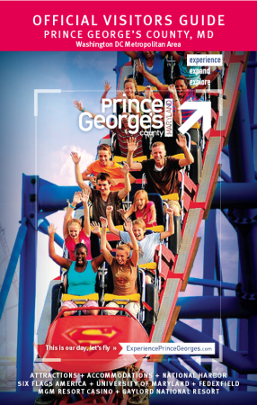 Prince George's County, MD Visitor Guide Cover