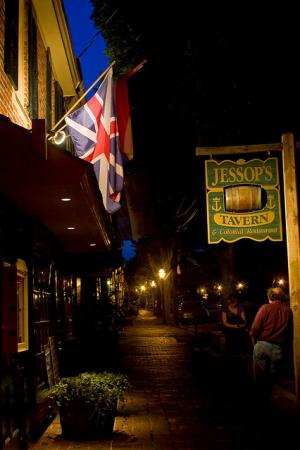 Jessop's Tavern, Historic New Castle, Delaware
