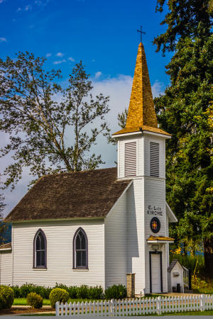 Evangelical Lutheran Church in Elbe, Washington