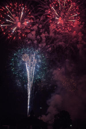 Riverfest Fireworks 2 in St Charles