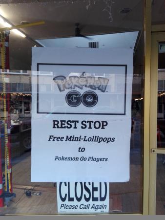 Pokemon Go Rest Stop
