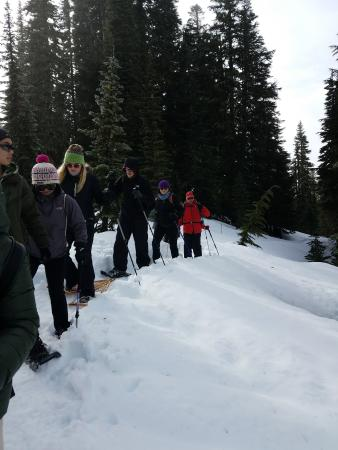 Mount Rainier Snowshoeing