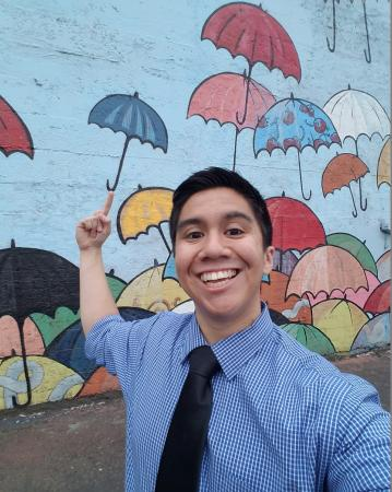 Selfie Spot - Umbrella Wall