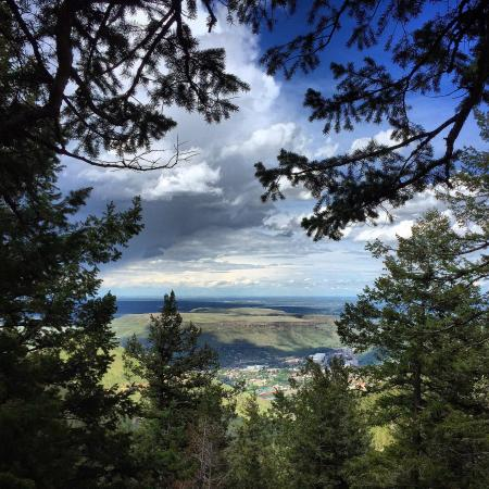 View from Buffalo Bill Cody's grave