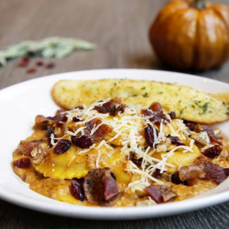 Black Walnut Cafe │ Pumpkin Ravioli