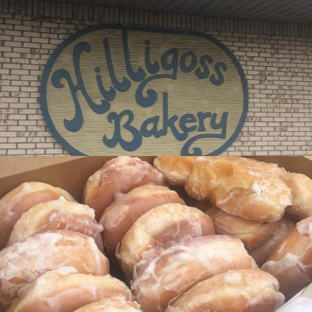 Hilligoss Bakery's doughnuts