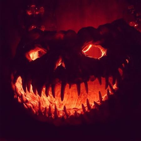 Dent Schoolhouse Pumpkin